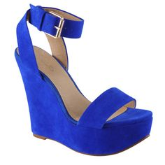 1000 Images About Shoes On Pinterest Blue Wedges Royal