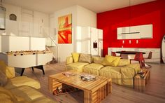 Manido Studios - Swiss Prime Site AG - Zürich Maaghome 3d Modellierung, Studios, Modern, Architecture, Trendy Tree, Studio