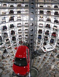 This is at my work. Autostadt (Carcity) of Volkswagen in Wolfsburg.