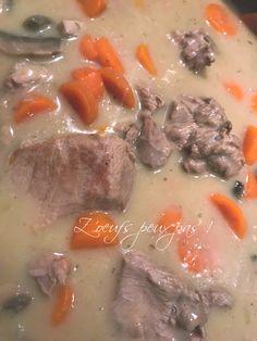 Aujourd'hui, je vais peut-être surprendre certains d'entre vous en proposant une blanquette de veau! Ce plat emblématique français... Pot Roast, Ethnic Recipes, Food, Veal Stew, In Season Produce, Autumn, Dish, Winter, Carne Asada