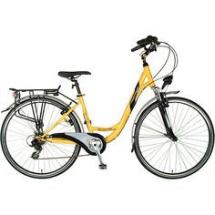 7e72ccfafa1 [special_offer]What are the features of Tour de France Advantage Bicycle  (Yellow/Black, X 43 cm)Frame: SteelShifters: Shimano Revo Shift 7 speed  TwistWheel
