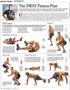 Great body weight routine