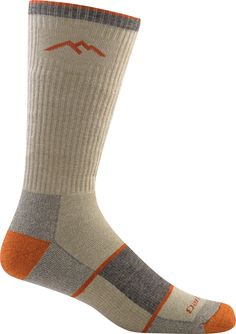 Coolmax Boot Sock Full Cushion / Tan/Orange / M Medium