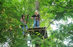 """Latvia has several adventure parks, some of which are even near the centre of Riga – """"Mežakaķis"""" in Mežaparks or """"High Rope Park"""" in Jaunmarupe."""