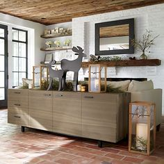 Aspen Sideboard in Buffets & Sideboards | Crate and Barrel