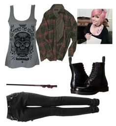 """""""A New Day ~Astraea"""" by coffeeismysoul ❤ liked on Polyvore featuring Dr. Martens"""