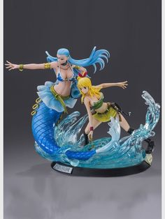 Lucy Heartfilia & Aquarius - High Quality PVC Figur 1:8 - Fairy Tail 26 cm