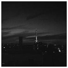 #Eiffeltower #bynight #rooftop