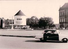 Anfang 1960er Hamburg - St. Georg, ZOB Hamburg. ☺