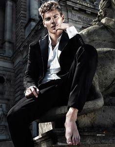 Mikkel Jensen for Harper's Bazaar China Men Style by Giovanni Squatriti