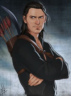 The sexiest GRUMP Nathaniel Howe and THAT SMIRK. For all that is good and right in this world, commission this artist!I imagine he's watching Hale cause trouble and can't resist. I have two new chapters of. Dragon Age Origins, Dragon Age Inquisition, Dragon Age Series, Dragon Age 2, Dragon Ball, D D Characters, Fantasy Characters, Fantasy Figures, Drawing Training
