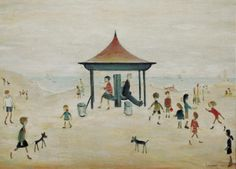 On the sands, Berwick on Tweed