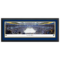 St. Louis Blues Hockey Arena Framed Wall Art, Multicolor