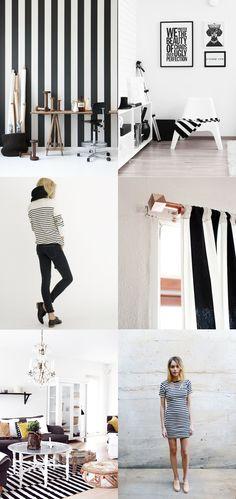 Black and White Stripes - Urbanwalls Blog