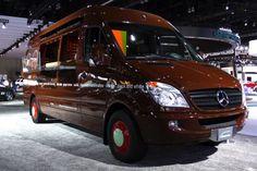 Sprinkles Cupcakes Mercedes-Benz Sprinter Van in LA