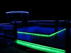 Deck lighting ideas led deck lighting with rgb flexible led strips 5m 16 3ft landscape decking garden outside color changing led strip lighting mozeypictures Choice Image