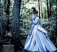 grace coddington styled for Vogue #keira knightly