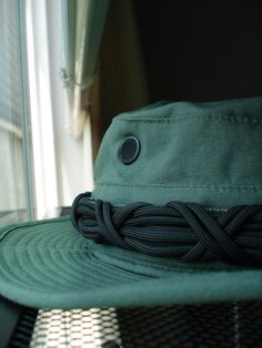 Hat with paracord