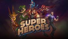 Super Heroes - 5 fantastische Superhelden in einem Online-Automat