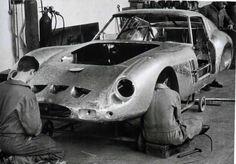 "classicsdept: "" The shoplife is the only life! Ferrari Racing, Ferrari F1, Sport Cars, Race Cars, Metal Shaping, Kit Cars, Car Wheels, Off Road, Courses"