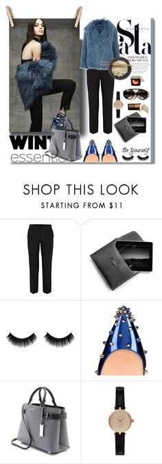 """""""Winter Essentials"""" by gulayunal ❤ liked on Polyvore featuring Helmut Lang, Topshop, Christian Louboutin, Michael Kors and Barbour"""