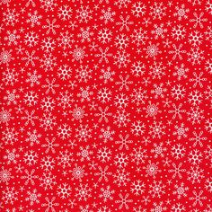 Makower Christmas Joy snowflakes white gold FQ//Half metre 100/% cotton free p/&p,