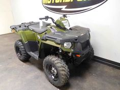 New 2017 Polaris Sportsman 450 H.O. EPS Sage Green ATVs For Sale in Tennessee.