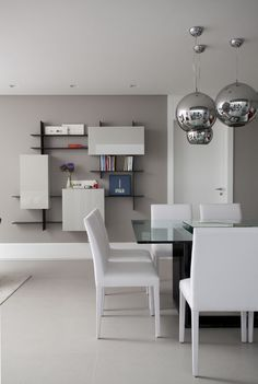 Apartamento sofisticado e feminino (Foto: Marco Antonio / divulgação)