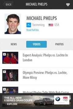 tabs onNBC Olympics