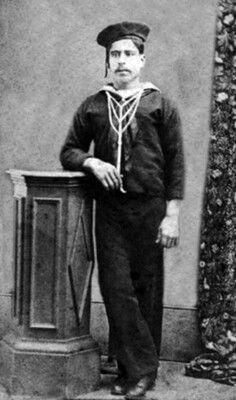 Faustino espinoza, marinero 2° de la Corbeta Magallanes
