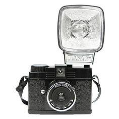 Lomography Diana Mini - Petite Noire + Flash - Lazada.co.id