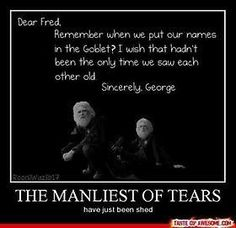 harry potter, fred and george, omg the feels Harry Potter Triste, Harry Potter Sad, Harry Potter Quotes, Harry Potter Universal, Hermione, Percy Jackson, Weasley Twins, No Muggles, The Dancer