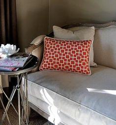 DIY Pillows With A Trim Edge DIY Pillowcases