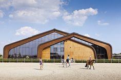 X-BIONIC® EQUESTOR SPHERE | Šamorín | Slovakia | Sport in Architecture 2016 | WAN Awards