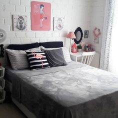 The Best 2019 Interior Design Trends - Interior Design Ideas Small Room Bedroom, Home Decor Bedroom, Girls Bedroom, Diy Room Decor, Bedroom Ideas, Teenage Girl Bedrooms, Girl Bedroom Designs, Dream Rooms, Girl Room