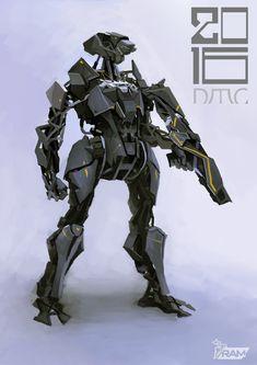 ArtStation - Mechanical soldier, METAL RAM