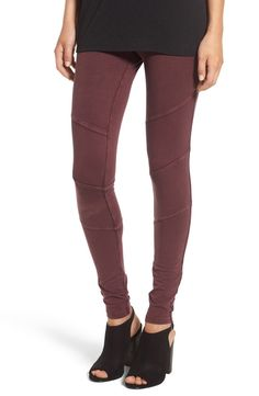 Love how comfortable and soft these moto leggings are that can be shopped during the NSale. They're a versatile piece that can be dressed up with a trendy top or down with a black tee and moto jacket.