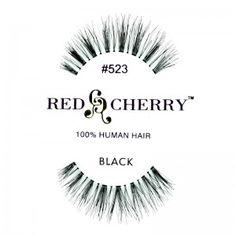 Red Cherry - Falsche Wimpern Nr. 523 - Echthaar