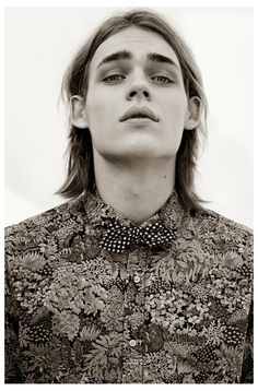 Ton Heukels Fronts Scotch & Soda Sir Safari Pop Campaign - special collection TRICOLINES florais