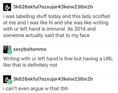 She Likes, Left Handed, Tumblr Funny, Fandoms, Teen, Writing, Sayings, Face, Funny Tumblr
