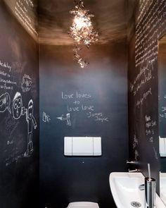 interieur wc krijtverf - Google zoeken                                                                                           Plus
