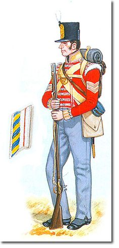 British Empire: Armed Forces: Units: British Infantry: 31st (or the Huntingdonshire) Regiment of Foot