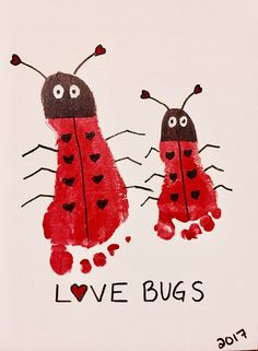 Baby art projects footprint valentine crafts Ideas for 2019 Valentine's Day Crafts For Kids, Daycare Crafts, Preschool Crafts, Baby Footprint Crafts, Baby Crafts, Kid Crafts, Crafts Cheap, Toddler Valentine Crafts, Toddler Crafts