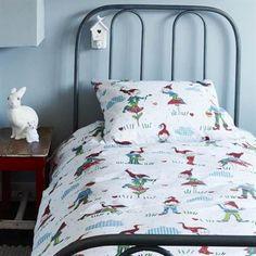 Beddinghouse Gnomes dekbedovertrek - #stoer #jongenskamer #kabouters