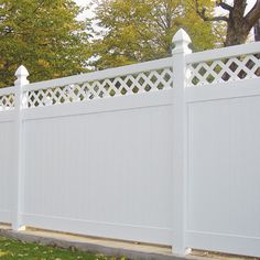 All Seasons Vinyl Fencing Products: Privacy Fencing I have this fence in my back yard and love it.