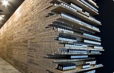 Aesop Skin Care in a space designed with just recycled cardboard