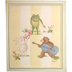 Topsy Turvy Animal Band Framed Wall Art