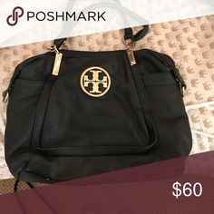 Tory burch black purse Black leather Tory Burch Bags