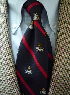 "heavytweedjacket: "" Wool & linen summer tweed. Moon & Sons / J. Press Gun Club, Brooksweave OCBD, RL Polo Olympic tie. Cool and misting rain all day. """