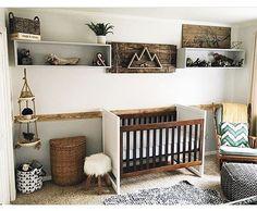 Dormitorio de bebés de estilo Natural   DECORACIÓN BEBÉS